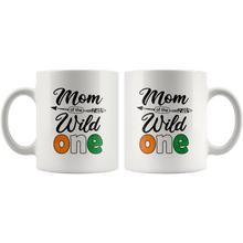 Load image into Gallery viewer, RobustCreative-Ivorian Mom of the Wild One Birthday Ivory Coast Flag White 11oz Mug Gift Idea