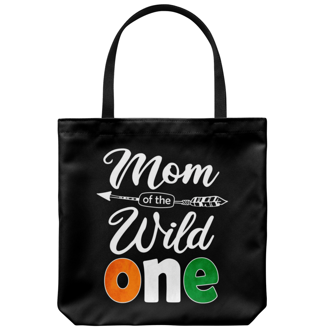 RobustCreative-Ivorian Mom of the Wild One Birthday Ivory Coast Flag Tote Bag Gift Idea