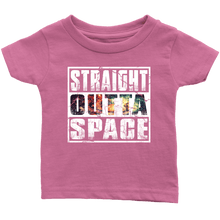 Load image into Gallery viewer, RobustCreative-Straight Outta Space - Astronomy Outer Space Cosmos Galactics Infant T-Shirt