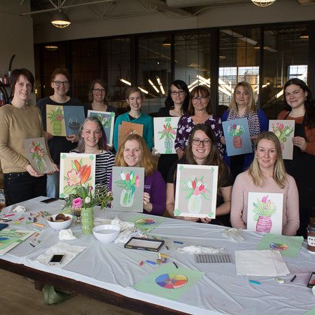 Pastel Floral workshop