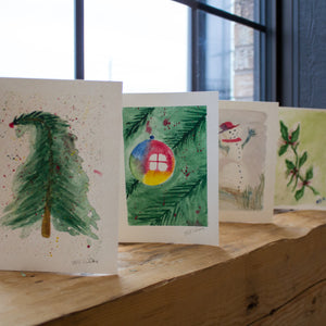 Watercolour Christmas Card Workshop
