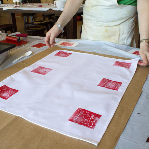 Intro Printmaking : Stamps