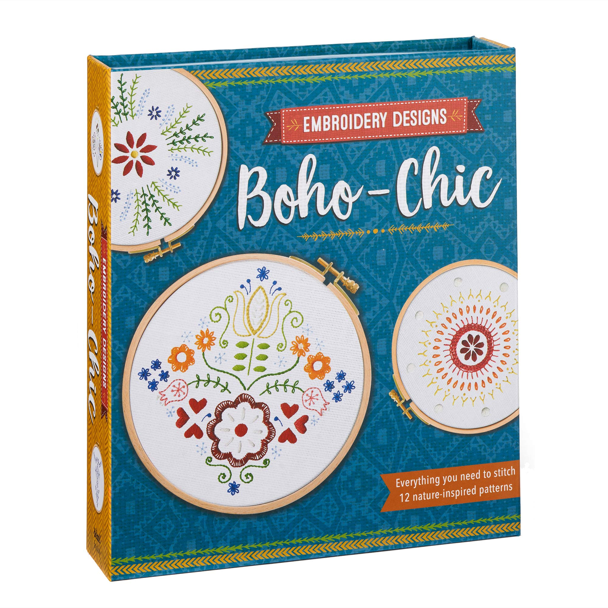 Embroidery Designs: Boho-Chic