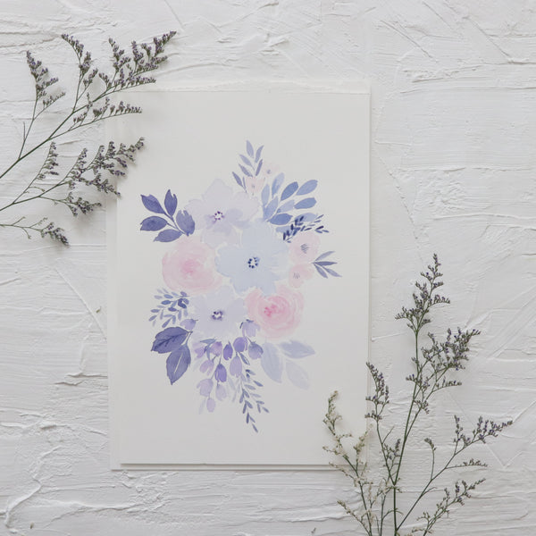 Watercolour Florals - October 30