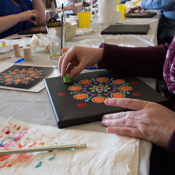 Mandala Painting - Dec. 8 @ 6:30 pm