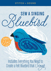 Sew a Singing Bluebird