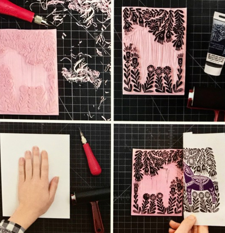 Printmaking/Stamp Carving