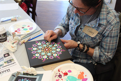 Snowflake Mandala: Dec. 8 @ 1:30pm