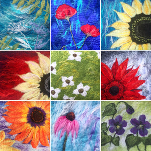 Felted Riot of Daisies/Flowers with Tuckamoor Wildcrafts - Full Day Workshop