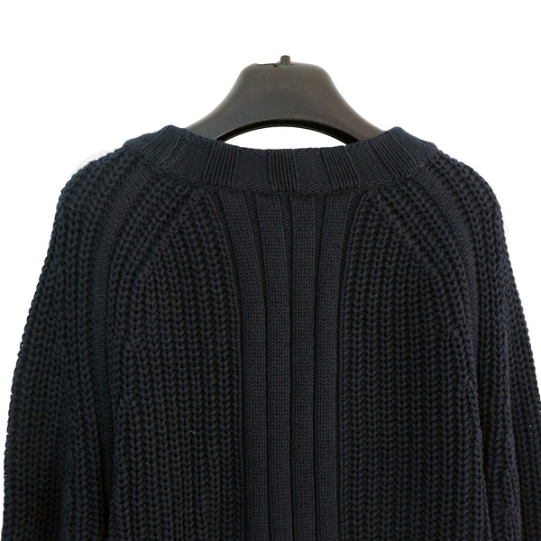 Filippa K Knitted Sweater Navy – Throwback a2d28f7a7e21f