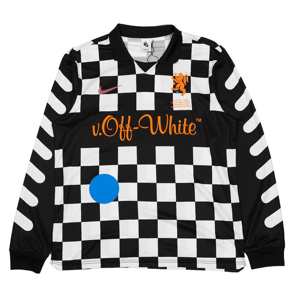 1c79baff9 Nike x Off-White Football Away Jersey Checkerboard – Throwback