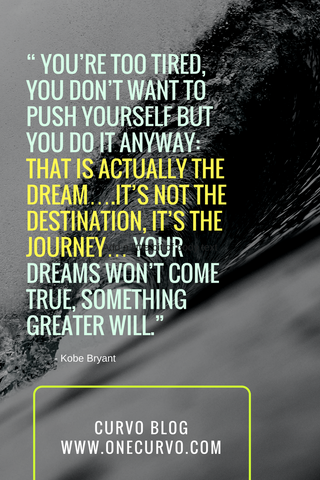 dream is not the destination, it's the journey quote