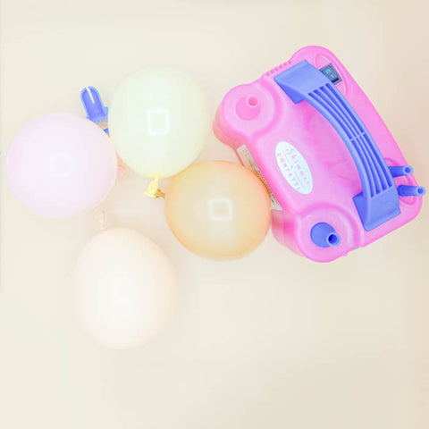 electric balloon pump by shimmer & confetti for baby showers, birthdays