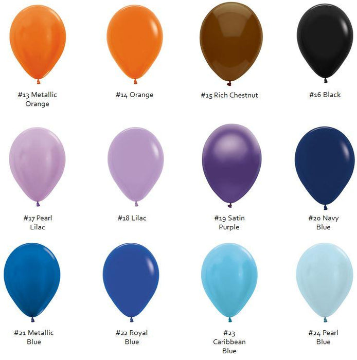 "18"" Latex Balloons - Mix n Match balloon arch and garland shimmer and confetti balloons unicorn baby shower bridal shower party supplies birthday decoration first"