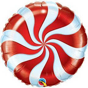 "18"" Round Candy Swirl Red Balloons balloon arch and garland shimmer and confetti balloons unicorn baby shower bridal shower party supplies birthday decoration first"