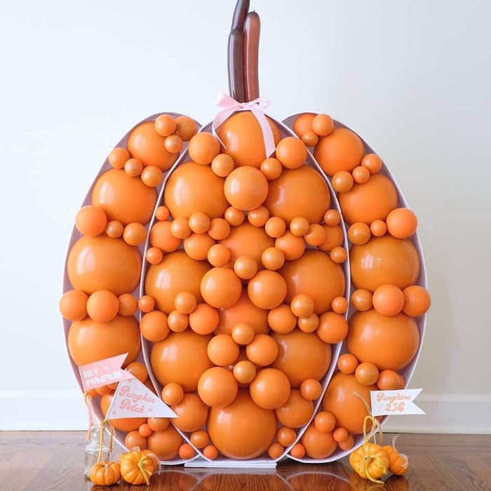 Burnt Orange Balloon Pack for Balloon Structures - 300 Pack