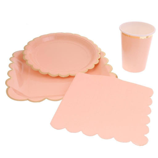 Pastel Party Tableware Set - Shimmer & Confetti
