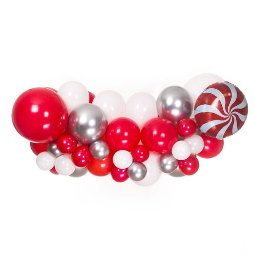 Red, White and Gold Balloon Arch and Garland Kit (5, 10, 16 foot) balloon arch and garland shimmer and confetti balloons unicorn baby shower bridal shower party supplies birthday decoration first