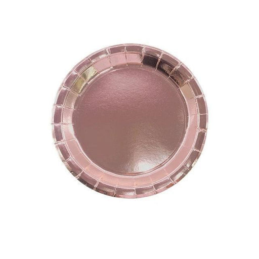 Rose Gold Party Tableware Set balloon arch and garland shimmer and confetti balloons unicorn baby shower bridal shower party supplies birthday decoration first