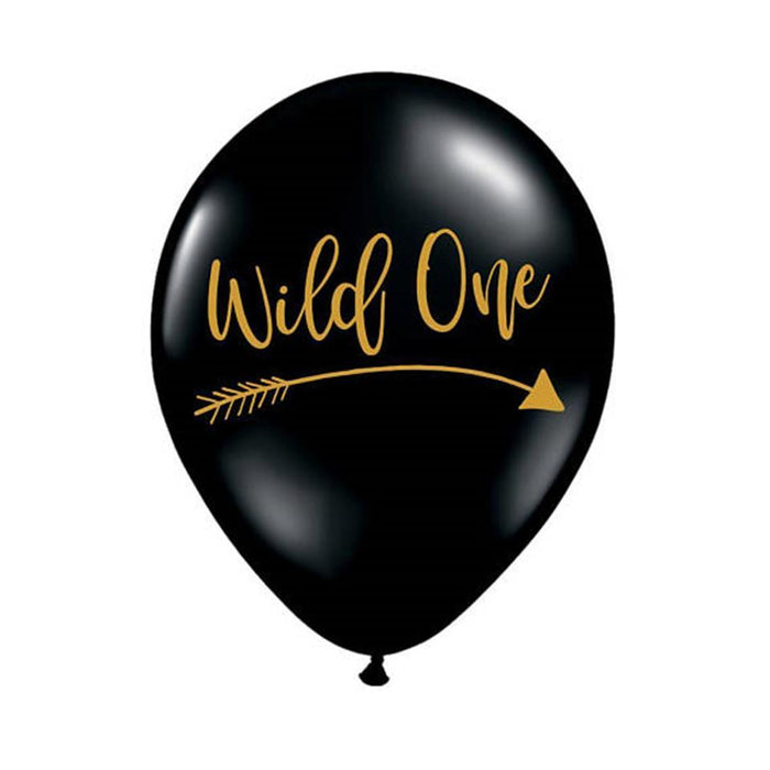 Wild One Latex Balloons 20ct balloon arch and garland shimmer and confetti balloons unicorn baby shower bridal shower party supplies birthday decoration first