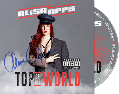Special Edition Top Of The World (Signed CD) Cover