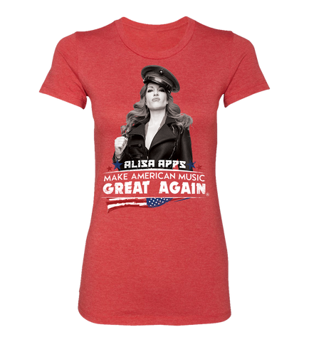 MAKE AMERICAN MUSIC GREAT AGAIN TEE