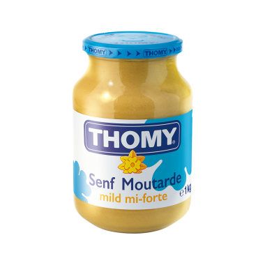Moutarde mi-forte Thomy 1kg