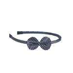 Black and White Polk-a-Dot Headband