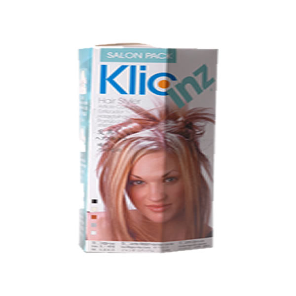 Salon Pack with 25 Assorted Klicinz
