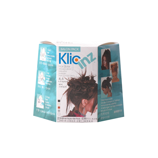 Salon Pack with 50 Assorted Klicinz
