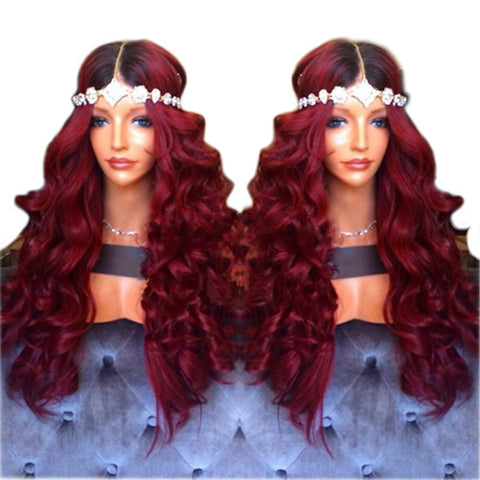 180% Density 26 Inch Lace Front Wig With Baby Hair