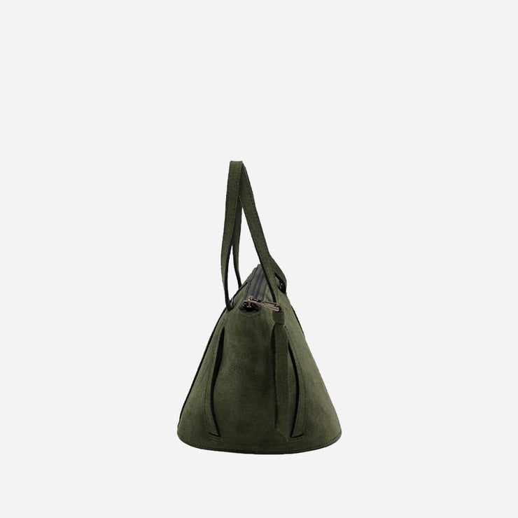 The Nat Bucket Bag | Suede