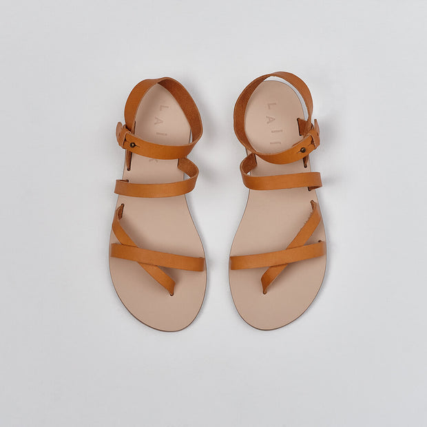 Greek leather sandal, gladiator