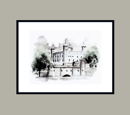 Tower of London Print