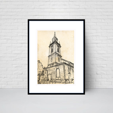 St Lawrence Jewry Church, City of London print