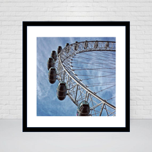 The London Eye Square print