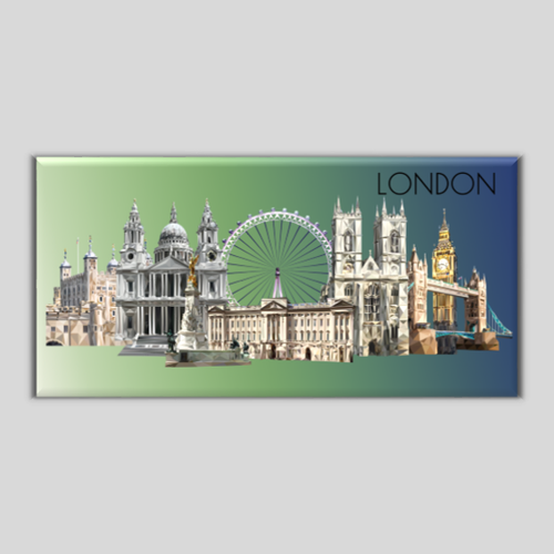 Landmarks of London Magnet
