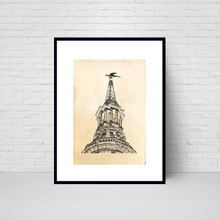 St Mary le Bow Church, City of London print