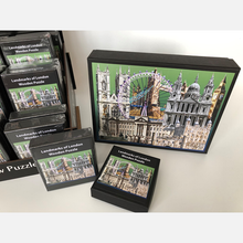 London themed wooden jigsaw puzzle made in Britain. Find London gifts and souvenirs at www.authentiklondon.com