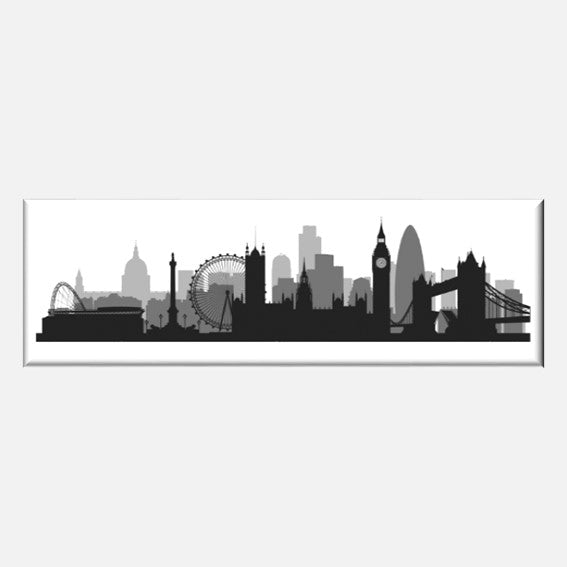 London Skyline Magnet, Authentik London Souvenirs and Gifts, made in Britain