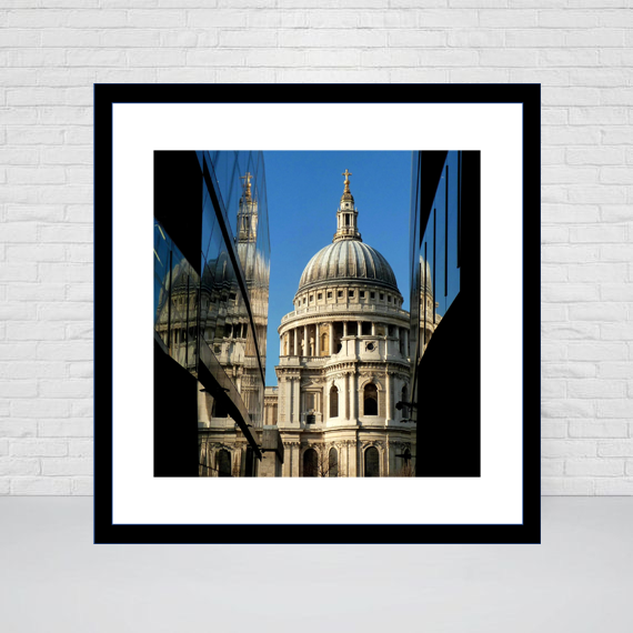 St Paul's Cathedral East View Square print