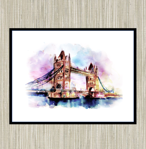 Tower Bridge, London Print
