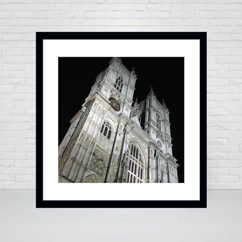 Westminster Abbey London, Square print