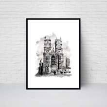 Westminster Abbey, London Print