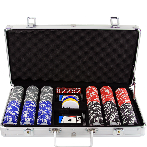 WPT 300 pc Poker Chip Set