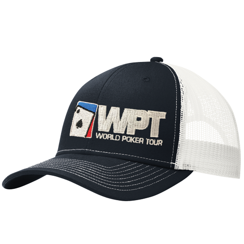 WPT Trucker Cap (Navy/White)