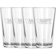 WPT Pint Glass Set (Set of 4)