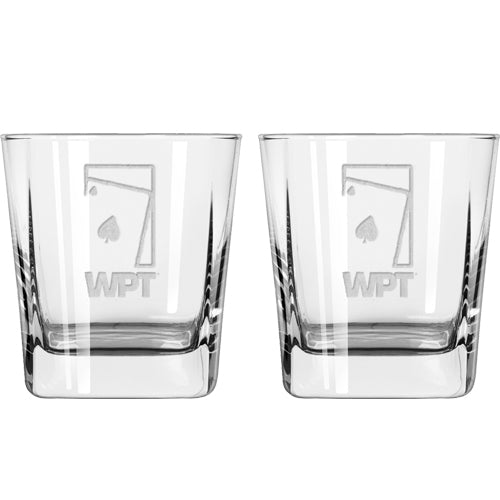 WPT Rocks Glass Set (Set of 2)