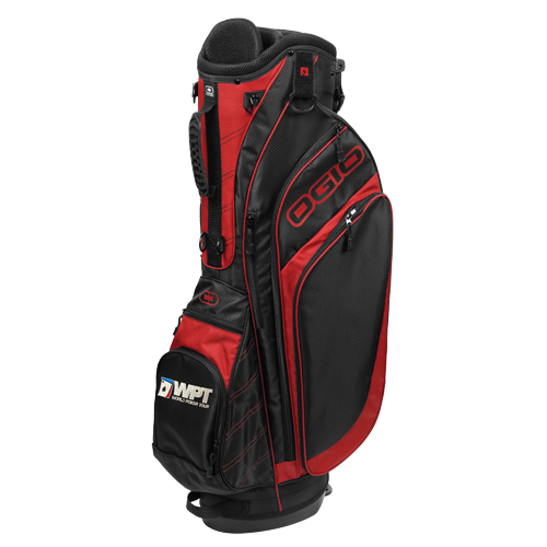 Spade Stand Golf Bag (Red)
