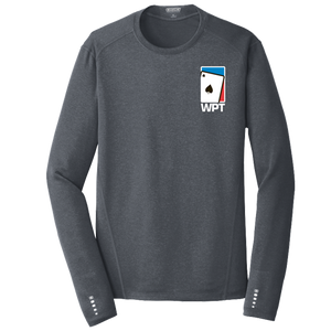 WPT Endurance Moisture Wicking Long Sleeve Shirt (Grey)
